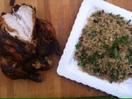 Harissa roasted spicey chicken