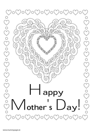 Happy Mothers Day with big heart