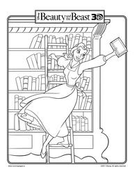 Beauty and a bookshelf