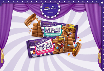 Cadburys Dairy Milk Marvellous Creations