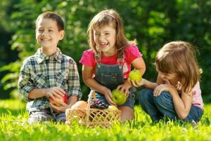 Games to play at your child's outdoor party