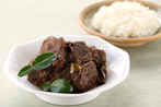 Spicy Asian beef