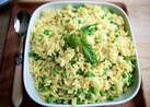 MummyCooks Orzo Pasta with Peas and Parmesan