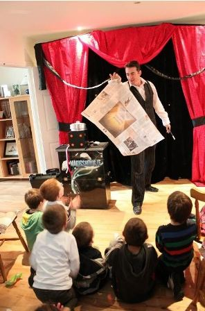 Win A Kids Birthday Party Magic Show With Joe Daly - Childrens birthday parties drogheda