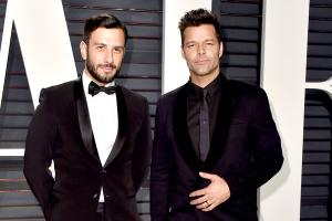 Congrats! Ricky Martin and his partner Jwan Yosef have tied the knot