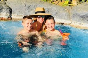 Britney Spears is on the holiday of dreams with her adorable sons