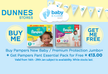 Amazing value on baby offers at Dunnes