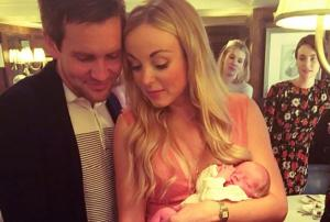 Im not too posh to push: Helen George defends her decision to have C-section