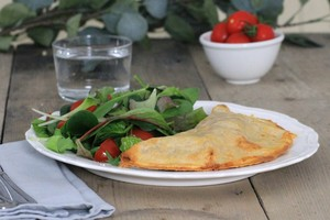 Healthy calzone