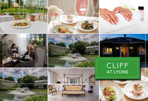 Win a luxurious stay for two at the Cliff at Lyons