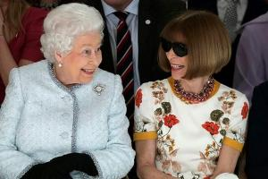 The Queen made a surprise appearance at London Fashion Week