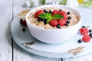 You can get FREE #OfficeOats for breakfast this week!