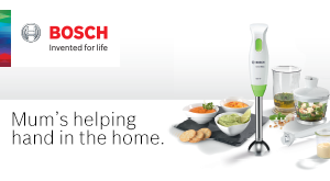 Make meal times easier with The Bosch CleverMixx.
