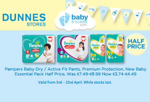 Check out these baby and toddler bargains in Dunnes Stores now