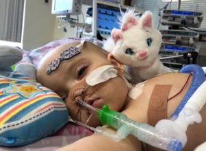 Little hearts are precious, so I might be waiting for a while: This Irish tot needs your help