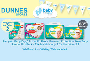 Dunnes Stores have baby and toddler bargains in store now