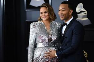 Chrissy Teigen and John Legend reveals the first photo of son