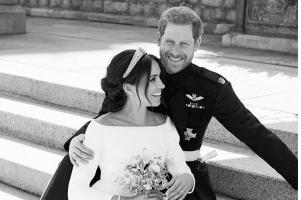 Harry and Meghan share their official wedding photos and they are BEAUTIFUL