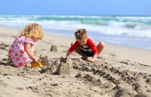 You can take the kids to this FREE sandcastle competition this weekend