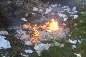 Dublin Fire Brigade warns students not to burn their books after finishing school