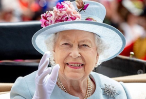 So THIS is the reason why the Queen always wears gloves