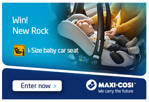 Win a Maxi-Cosi Rock i-Size baby car seat