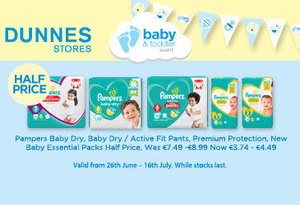 Dunnes Stores have amazing baby bargains in stores now!
