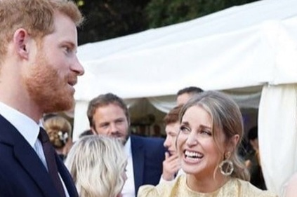 Starstruck: Amy Hubermans reaction to meeting Prince Harry is priceless