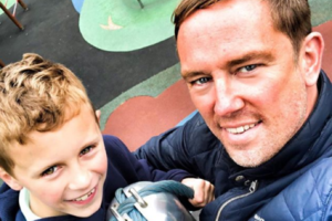Simon Thomas reveals how his son deals with the grief of losing his mum
