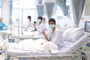 Twelve Thai cave boys to be discharged from hospital next week