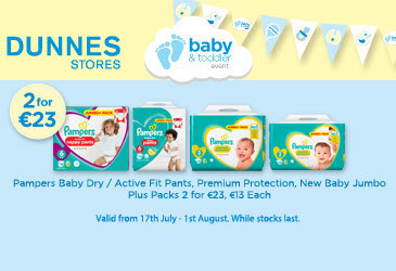Amazing toddler offers at Dunnes Stores