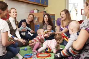 A parent and toddler group saved my life
