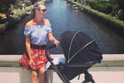 Kathryn Thomas shares inspiring message about losing baby weight