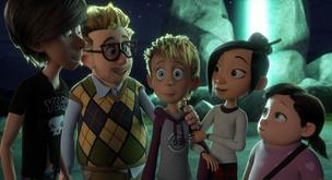 Win a family pass to the screening of Luis And The Aliens movie!