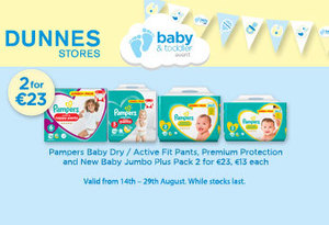 Check out the latest baby offers at Dunnes Stores