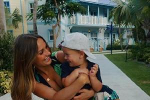 This is disgusting: Sam Faiers slated for bringing her son to the zoo