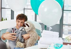 Tom Daley announced as brand ambassador for Pampers, following birth of his son