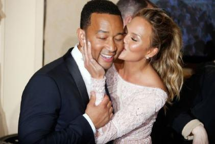 We can do three: Chrissy Teigen and John Legend hoping to expand their family