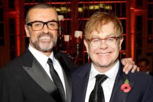 Elton John posts a rare picture of his boys going back-to-school