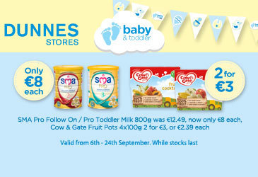 Amazing baby bargains at Dunnes Stores now!