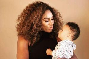 Twinning: Serena Williams daughter Alexis wears matching tutu to her mum