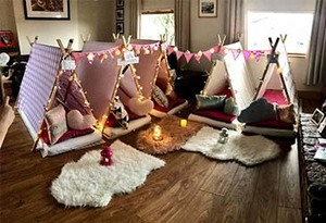 Win a Teepee party for up to 5 kiddies!