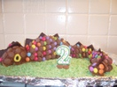 Chocosaurus cake