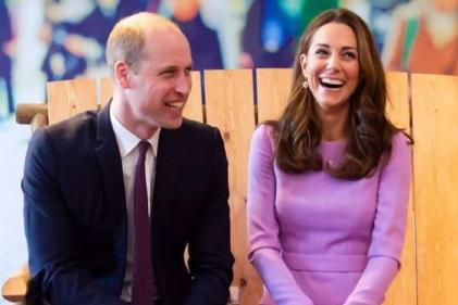 William and Kate attend their first joint engagement since Louis birth