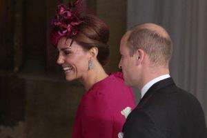 Kate and Meghan arrive at Princess Eugenies wedding and they look AMAZING