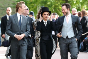 Cute and quirky: Royal wedding guests with the boldest fashion statements