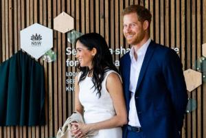 Meghan and Harry make first public appearance since royal baby news