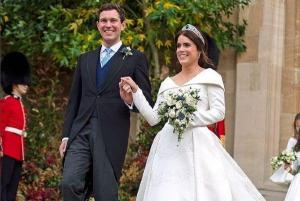 Princess Eugenie shares GORGEOUS never-before-seen wedding snap