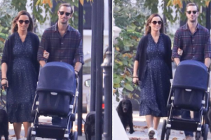 Pippa Middleton pictured with baby son for the first time