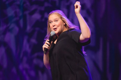 Watch: Pregnant Amy Schumer shares a very special moment with fans